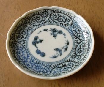 蛸唐草 豆皿ー1.JPG